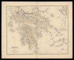 Greece, chiefly according to the English Admiralty surveys & Keipert / drawn by Augustus...