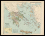 Greece, the Ionian islands and the Archipielago with the neighbouring portions of Turkey / by W....