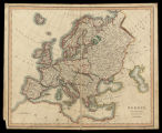 Europe / drawn and engraved for Dr. Playfair's Geography ; drawn by N. Coltman ; engraved by J. Bye
