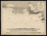 France South coast sheet IV, les Saintes Maries to Marseille from the pilote français 1843