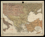 Letts's map of Turkey in Europe and Greece, with the adjoining portions of Austria, Russia, &...