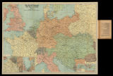 The Daily Telegraph : war map of Europe nº1