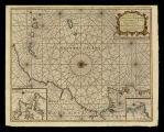 A correct chart of the coast of Portugal & Barbaria from C. Finisterra to C. Baydor with the...
