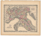 Northern Italy. Lombardy & Venice, Sardinia, Tuscany, Parma, Modena, Lucca an the States of...