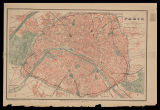 Plan de Paris : indicando todas las avenues, boulevards, rues, passages, etc. / gravé par R....