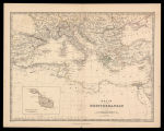 Basin of the Mediterranean / by Keith Johnston ; engraved & printed by W. & A.K. Johnston,...