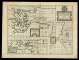 A new map shewing all the severall countries, cities, towns and other places mentioned in the New...