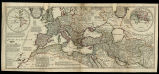An historical map of the Roman Empire and the neighbouring Barbarous nations... / by Monsieur...