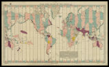 Time zone chart of the World: [fusos horaris] / published at the Hydrographic Office, under the...
