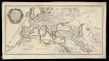 A general map of the Roman Empire thenving the situation of all its Provinces & the seats of...