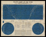 Philips' chart of the stars : stars of the middle heavens