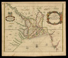 A map of the greater river Ganges as it emptieth it selfe into the bay of Bengala, taken from a...
