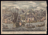 The raising ye siege of Gibraltar, & destroying monsr. Ponti's squadron by sir John Leake,...