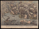 Barcelona taken by the Confederate fleet & army october 20, 1705 ...